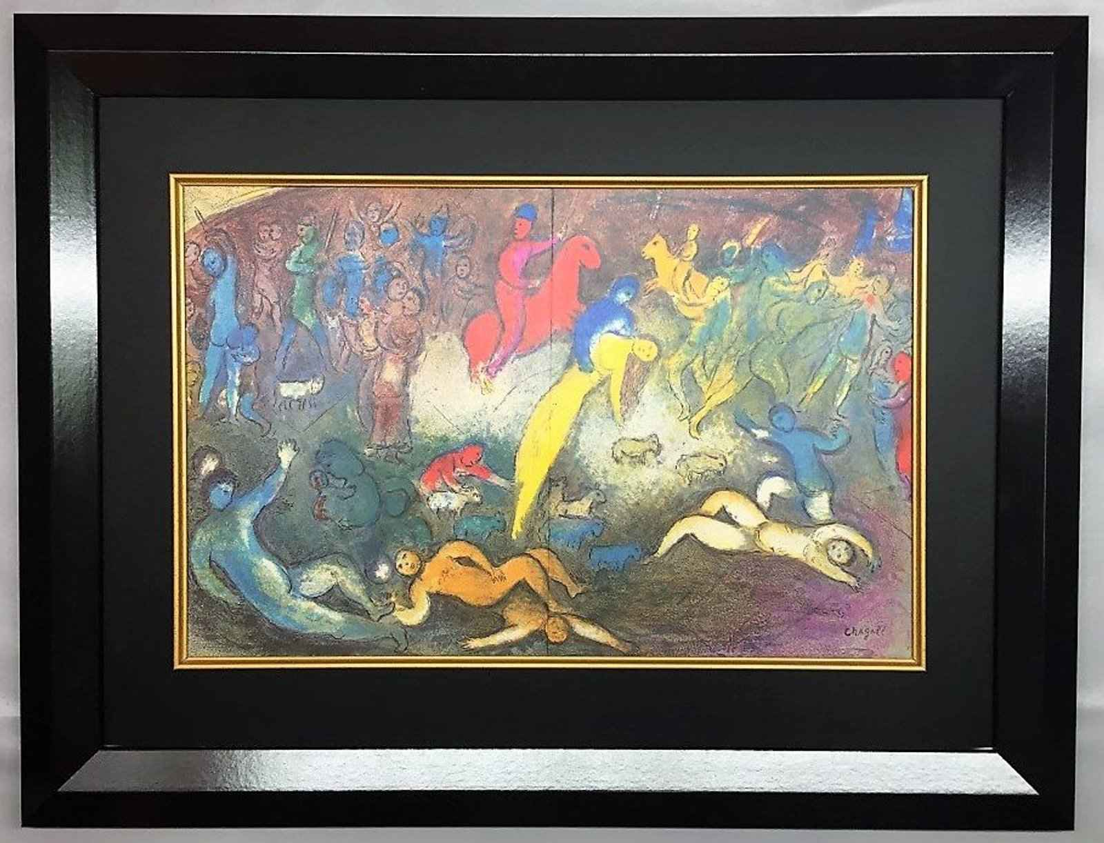 Abduction of Chloe by  Marc Chagall - Masterpiece Online