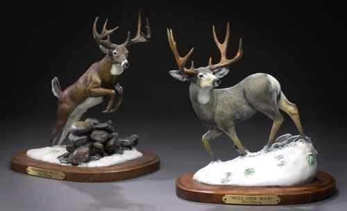 Mini Mule Deer Buck #... by  Karl Lansing - Masterpiece Online