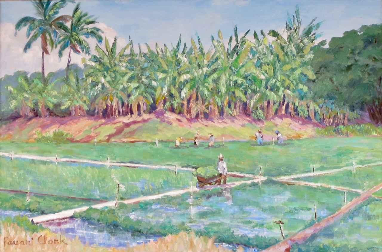 Watercress Farm by  Pauahi Wodehouse Clark (1917-2006) - Masterpiece Online