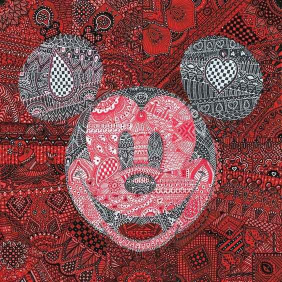 Mehandi Mickey by  Tennessee Loveless - Masterpiece Online