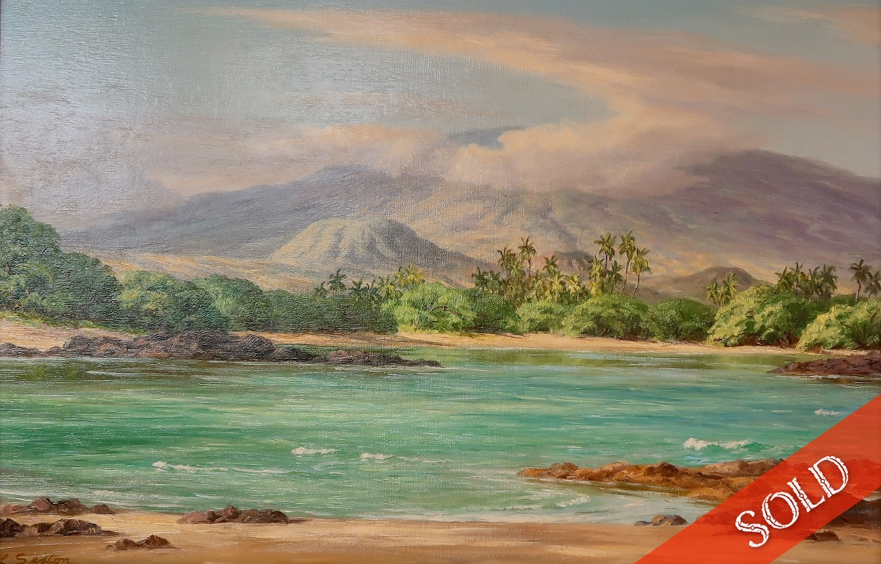 View towards Hualalai by  Lloyd Sexton (1912–1990) - Masterpiece Online