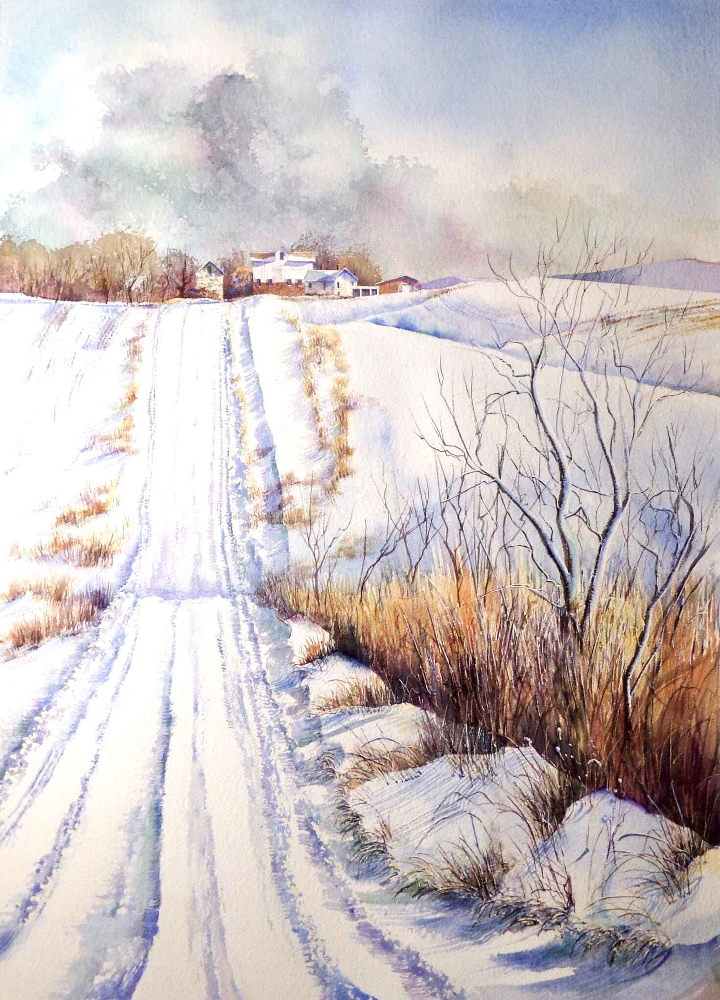 Snow Whites by  Ralph Fontenot - Masterpiece Online