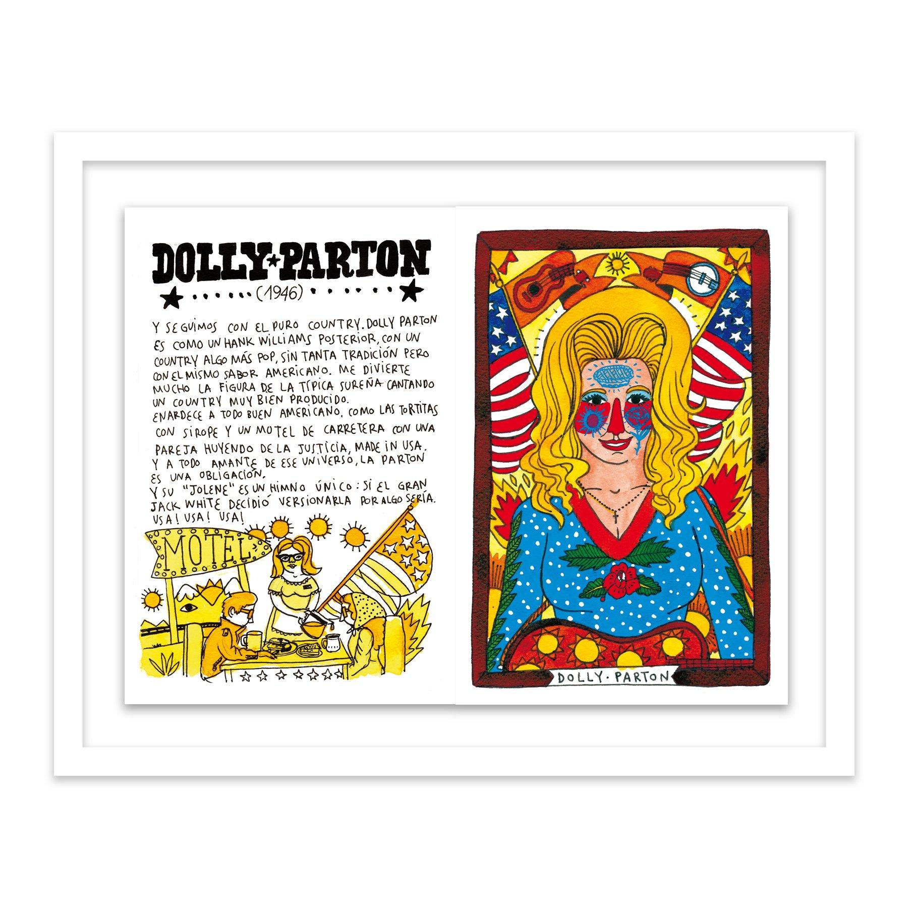 101 Dolly Parton by  Ricardo Cavolo - Masterpiece Online