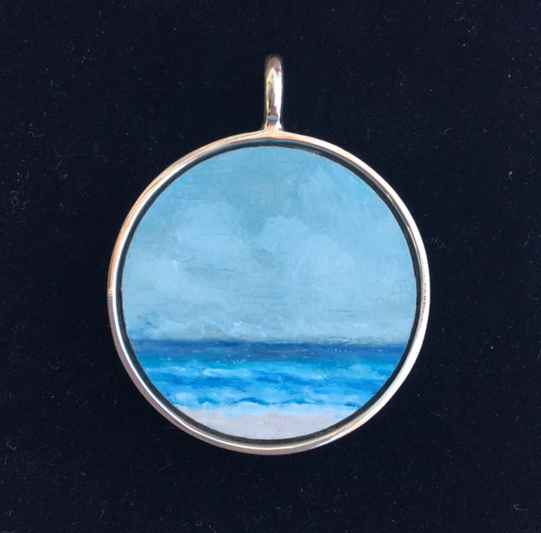 #180 Med Circle - Sea... by  Nell Mercier - Masterpiece Online