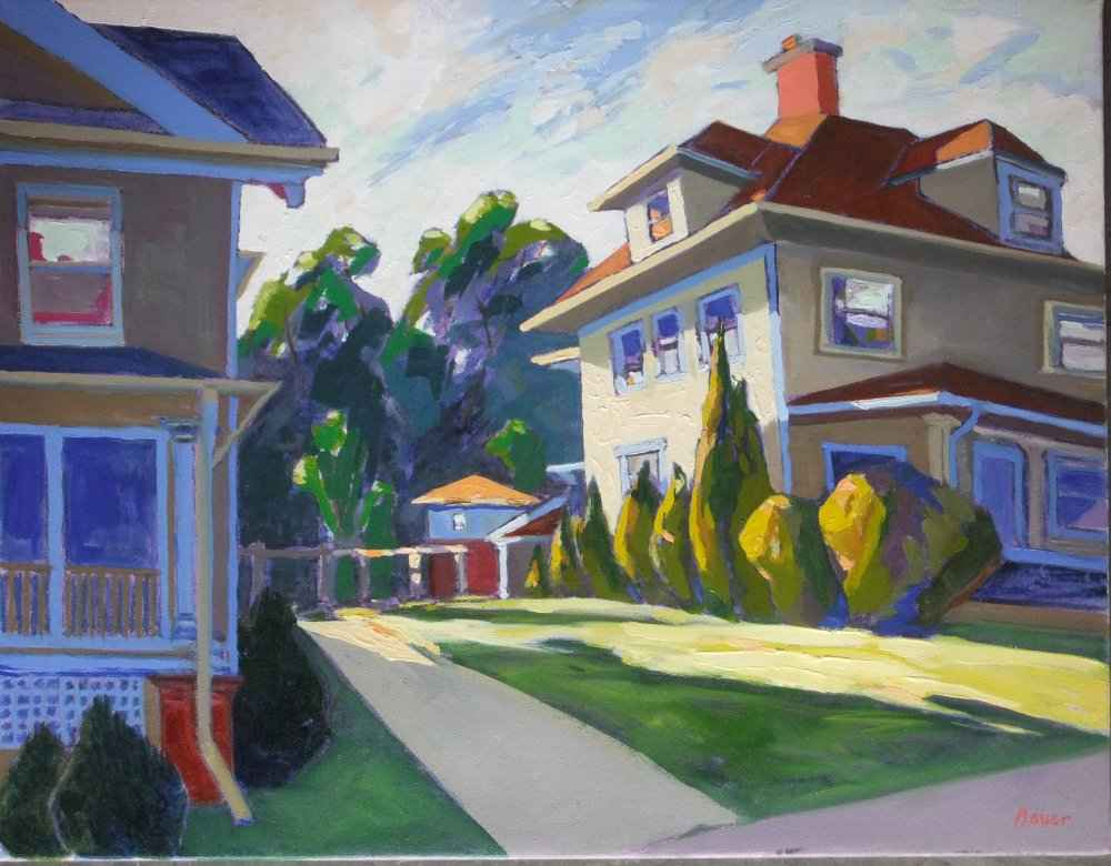 106 Lathrop St., Madi... by  Chuck Bauer - Masterpiece Online