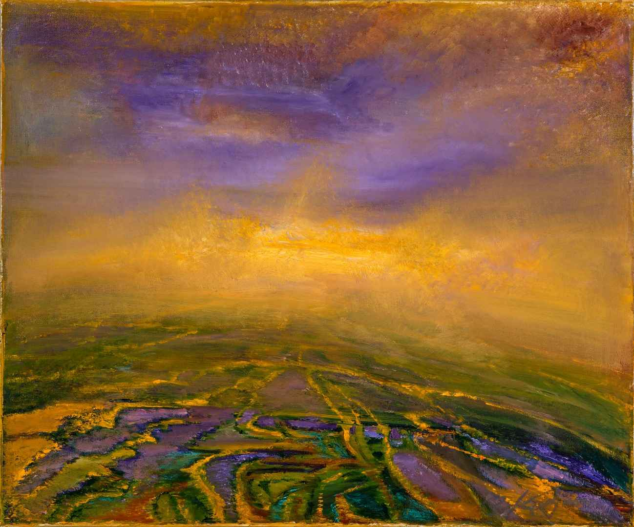 Blessed Fields by  Patricia Kaufman - Masterpiece Online
