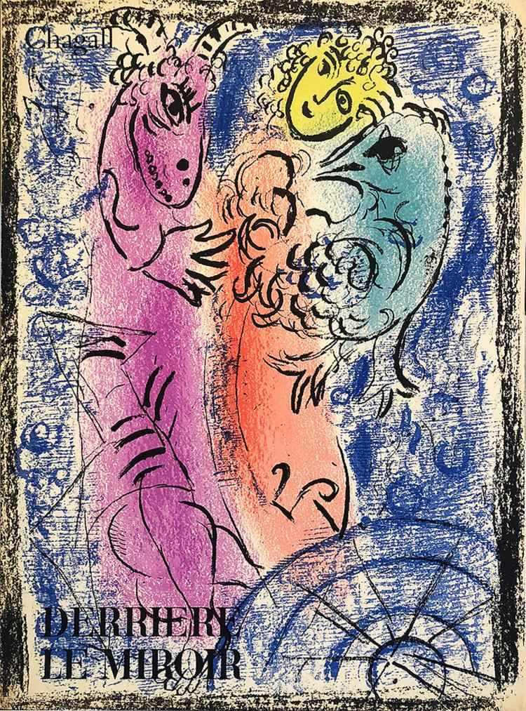 Derriere le Miroir No... by  Marc Chagall - Masterpiece Online