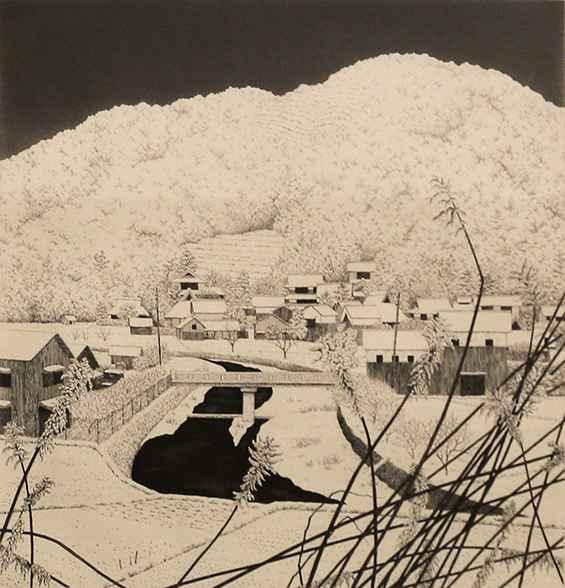 Snow Village No.1 by  Ryohei Tanaka - Masterpiece Online