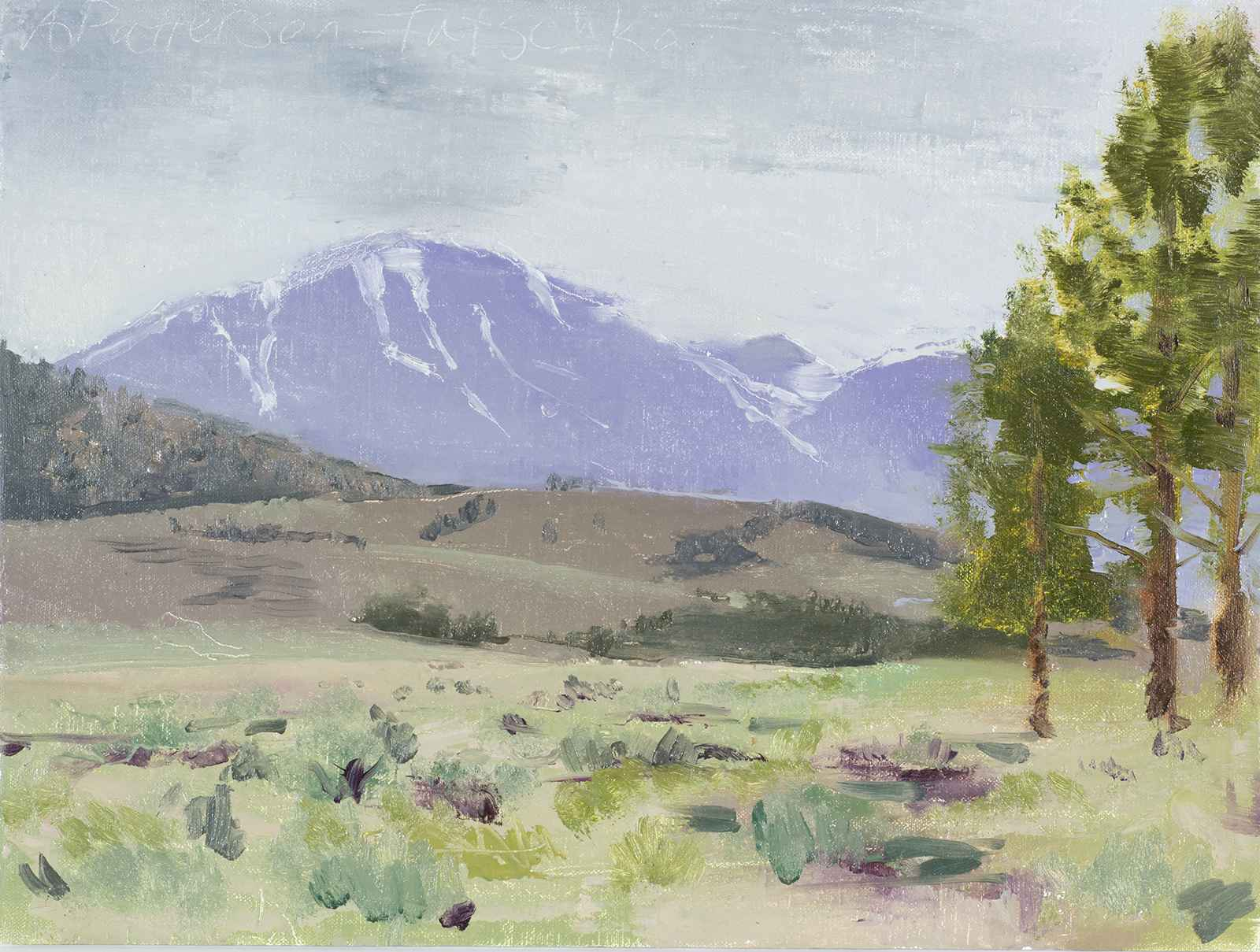 Near June Lake No. 1  by  Andrew Walker Patterson