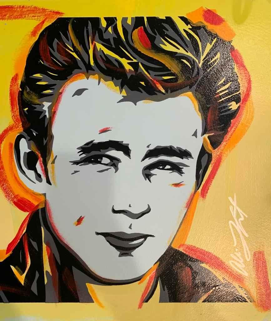 James Dean Yellow by   Lefcort, Allison - Masterpiece Online