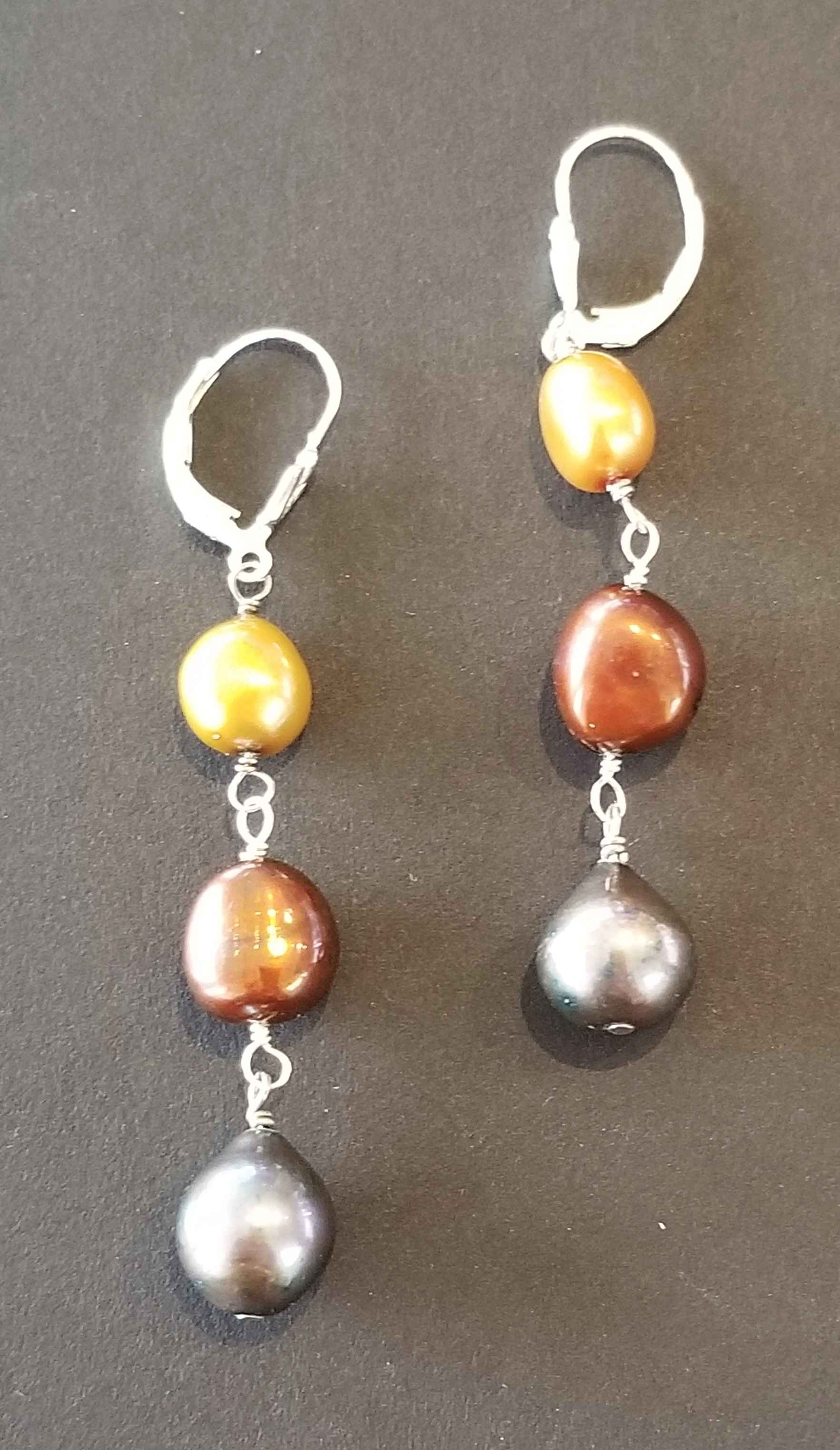 #76 Tricolor Pearl Ea... by Ms. Catherine Laing - Masterpiece Online