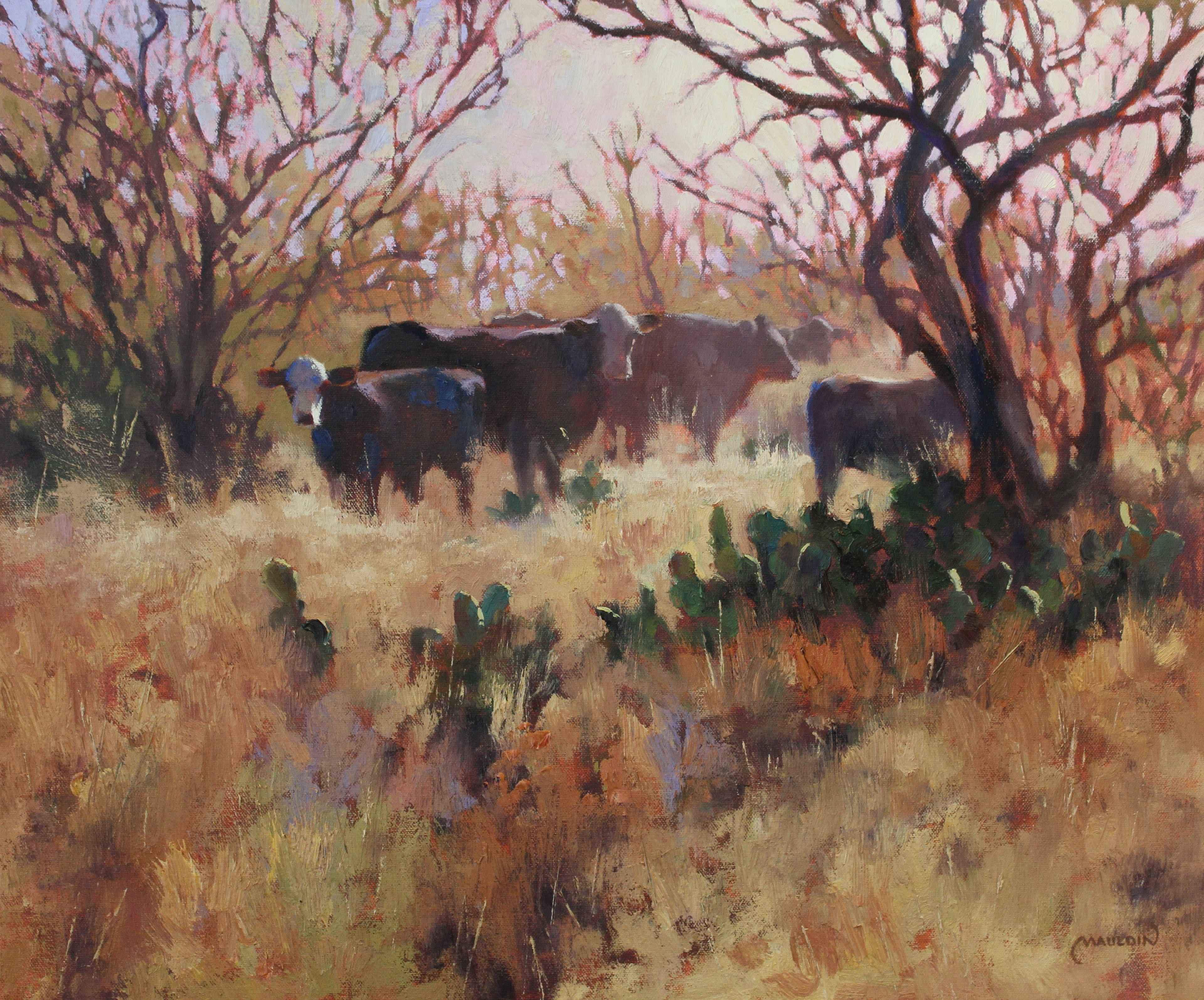 Morning Moo's by  Chuck Mauldin - Masterpiece Online