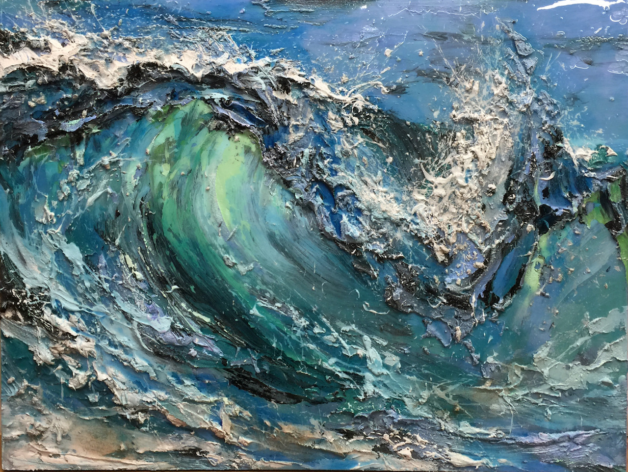 Ocean Light by  Barak Rozenvain - Masterpiece Online