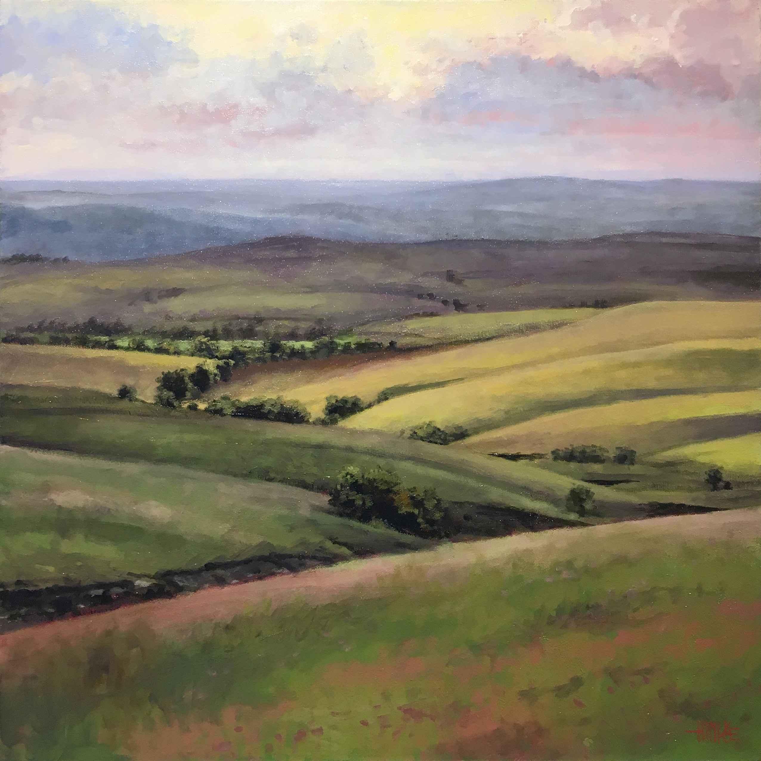 Flint Hills Vista by  Brian Hinkle - Masterpiece Online