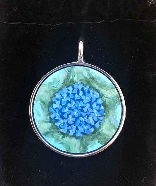 #274 Med. O Hydrangea by  Nell Mercier - Masterpiece Online