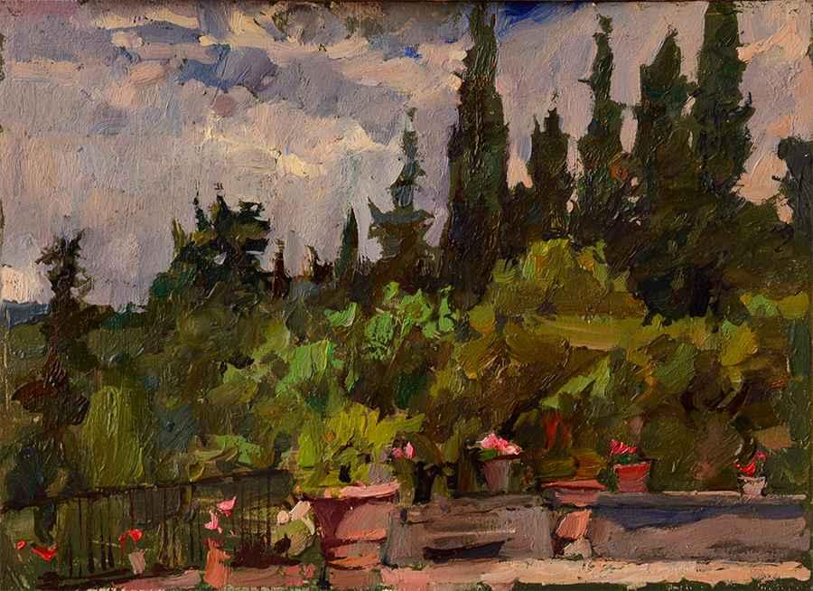 Montereggi Terrace, 2 by  Daud Akhriev - Masterpiece Online