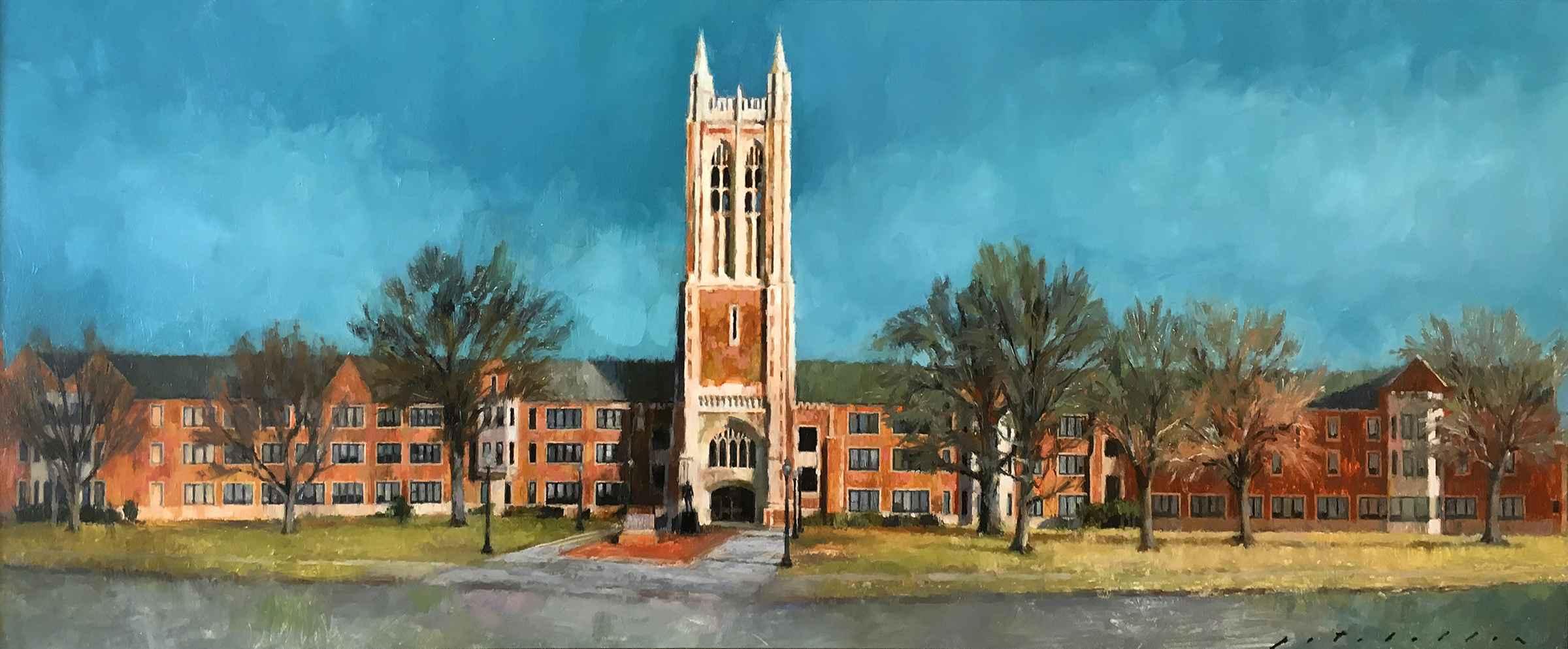 Topeka High School by  Pat Abellon - Masterpiece Online