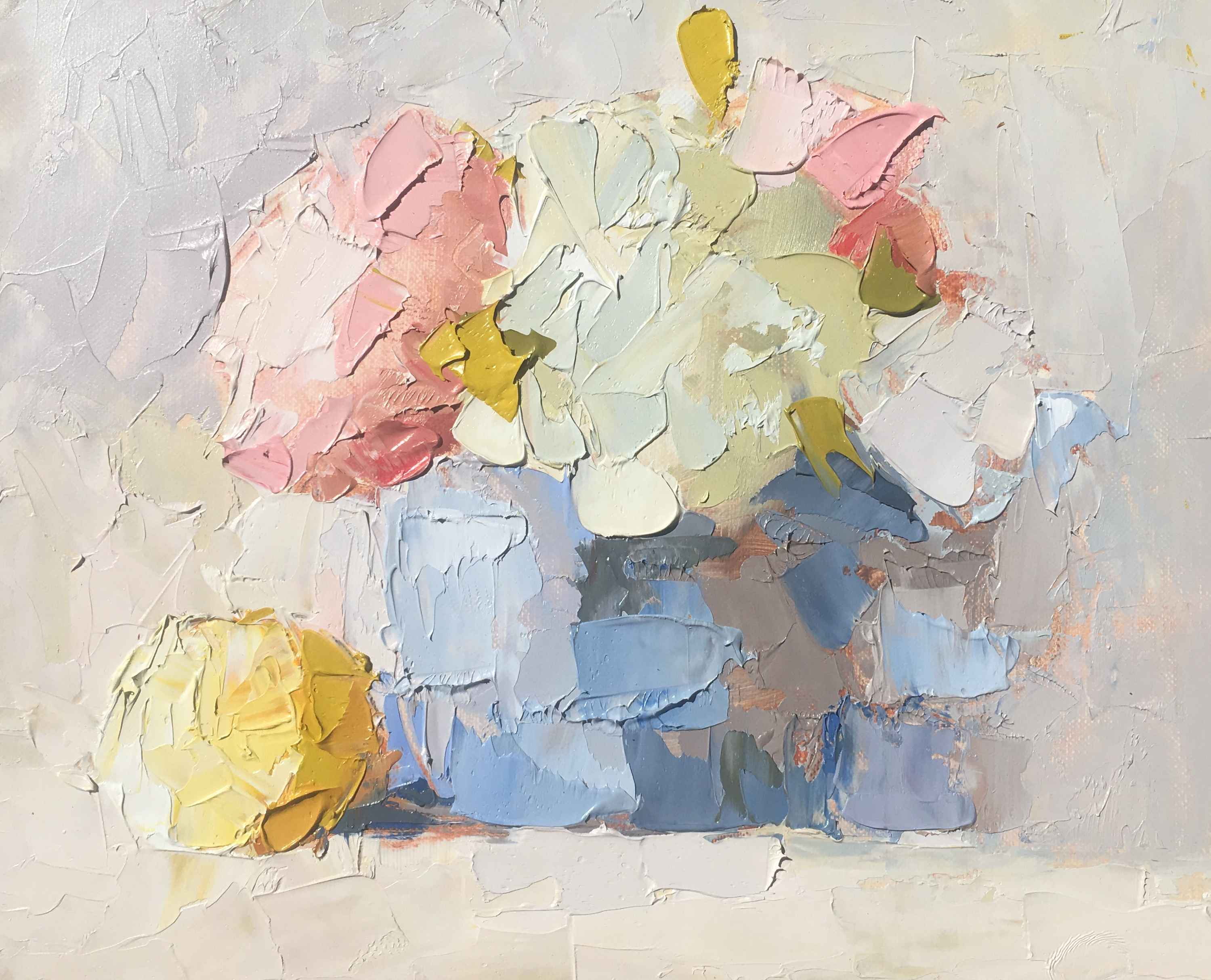 Sweet Bouquet in Teap... by  Carol Maguire - Masterpiece Online