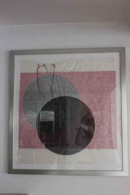 Monoprint Collage by  Andrea Bonfils 2018 - Masterpiece Online