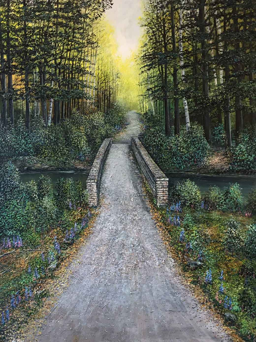 Path Through the Brid... by  Henry Lobo - Masterpiece Online
