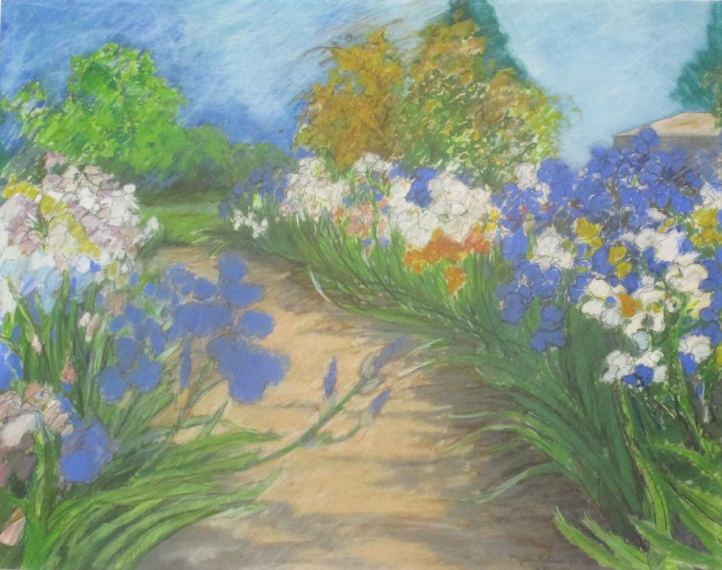 Title Unknown (garden... by  Myla Keller - Masterpiece Online