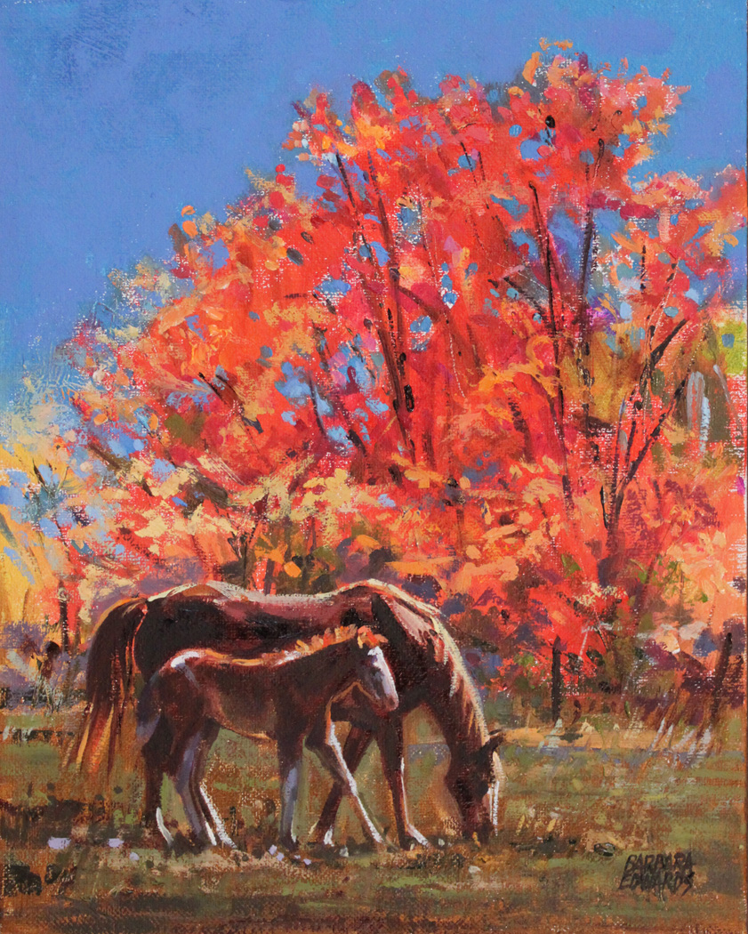 SOLD- Like A Fire by  Barbara Summers Edwards - Masterpiece Online