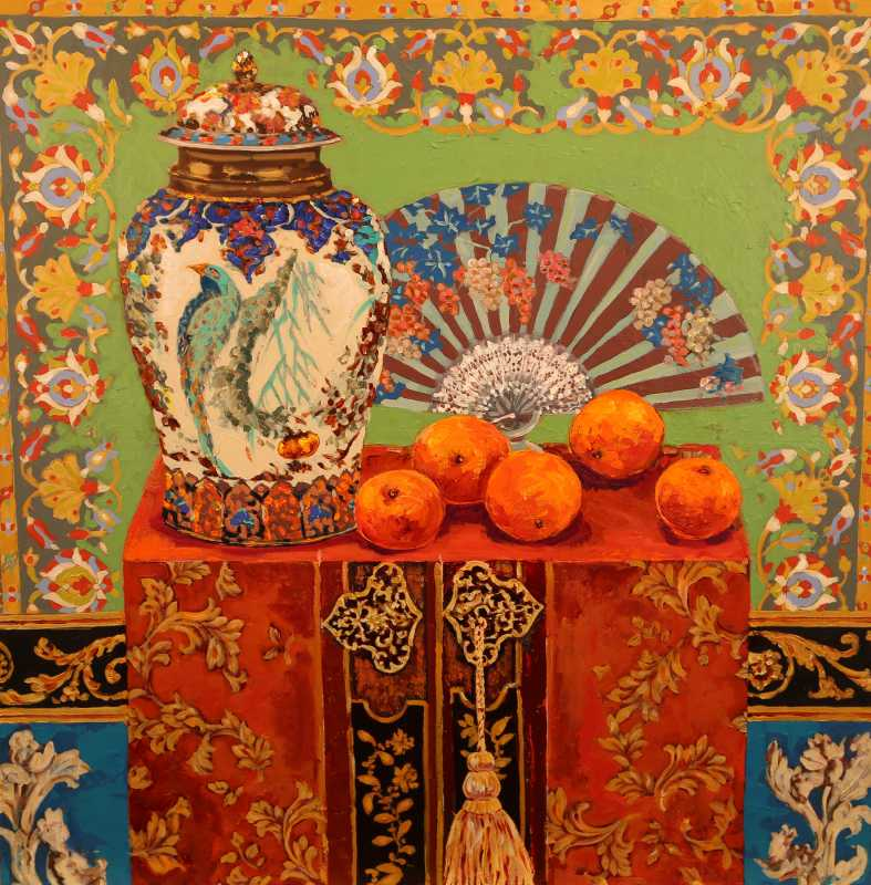 Oranges and Spanish F... by  Kate Steiger - Masterpiece Online