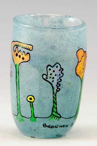 Shot Glass/Blue by  Bronwen Heilman - Masterpiece Online
