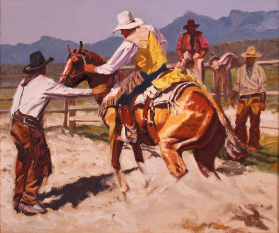 Green Bronc by  Glen Edwards - Masterpiece Online