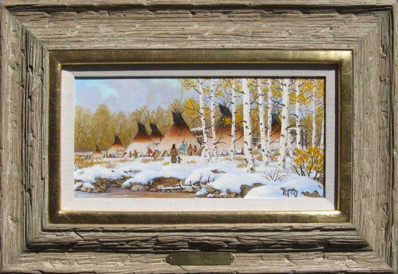 Autumn Mist by  R .C. Jones - Masterpiece Online