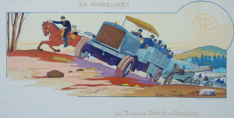 En maneuvres/Tracteur... by  Marguerite Campion Gamy - Masterpiece Online