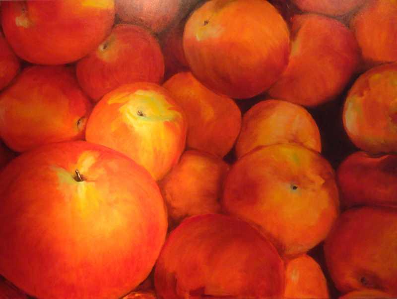 Georgian Apples 2 by Ms Pat Ransom - Masterpiece Online