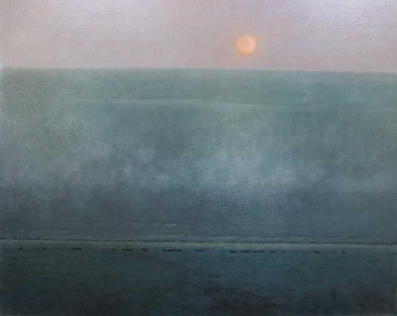 Moonrise At Sunset - ... by  Nancy Bush - Masterpiece Online