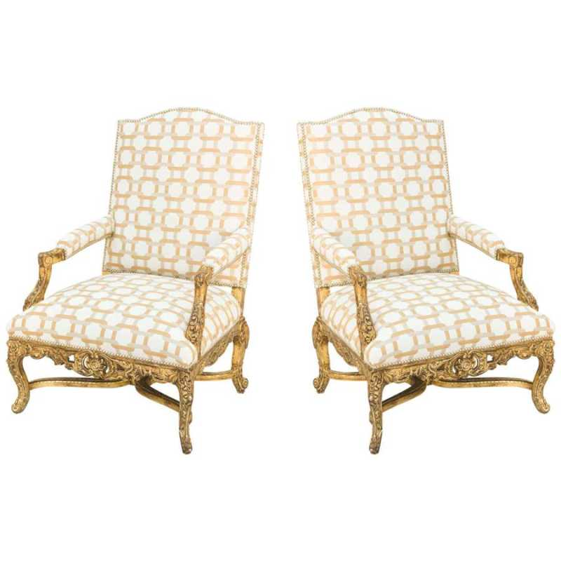 Pair of Armchairs by  French  - Masterpiece Online