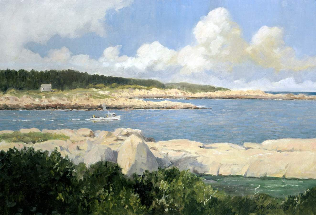 Seal Cove, Ragged Isl... by  Ray Ellis - Masterpiece Online