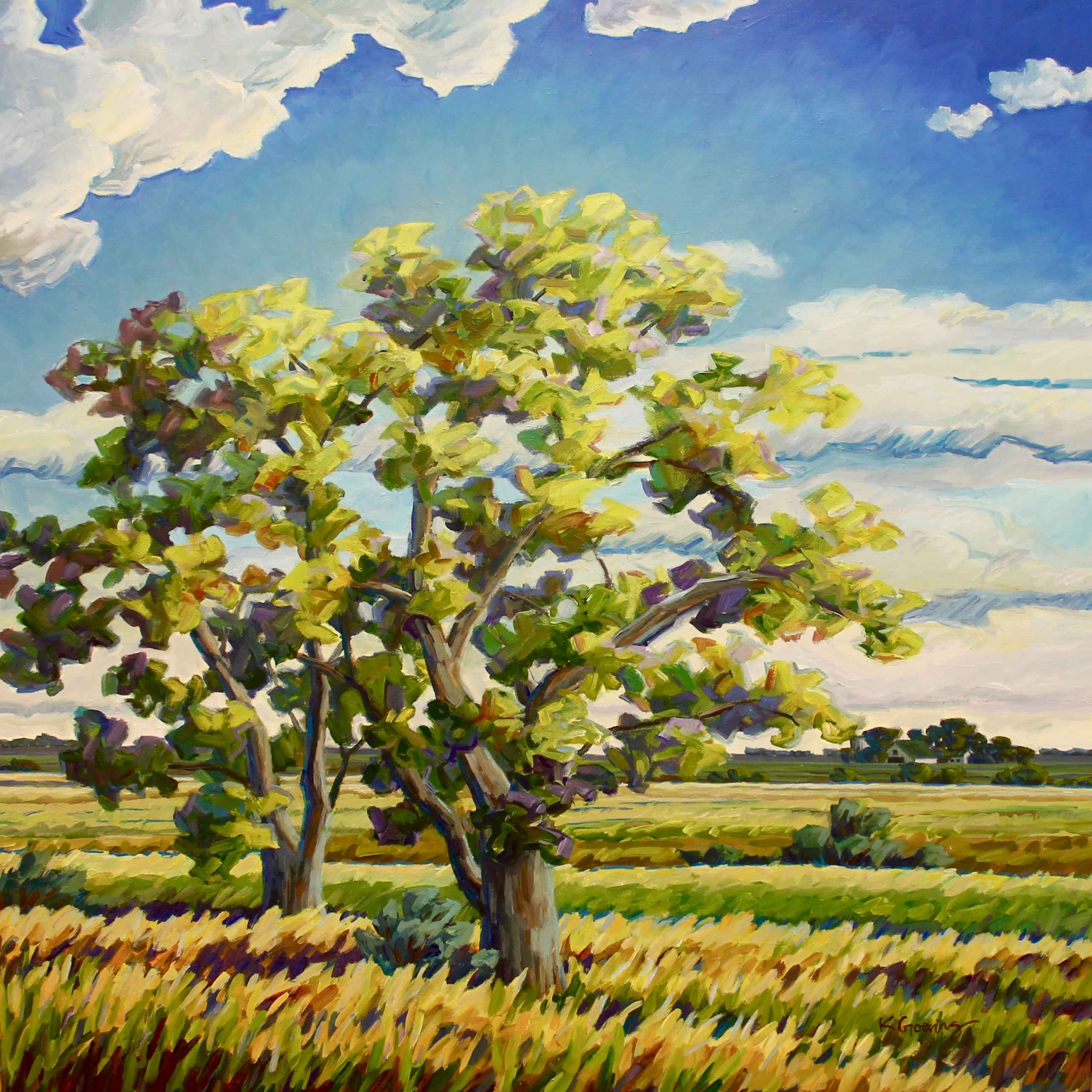Mayfield Cottonwoods by  Kristin Goering - Masterpiece Online