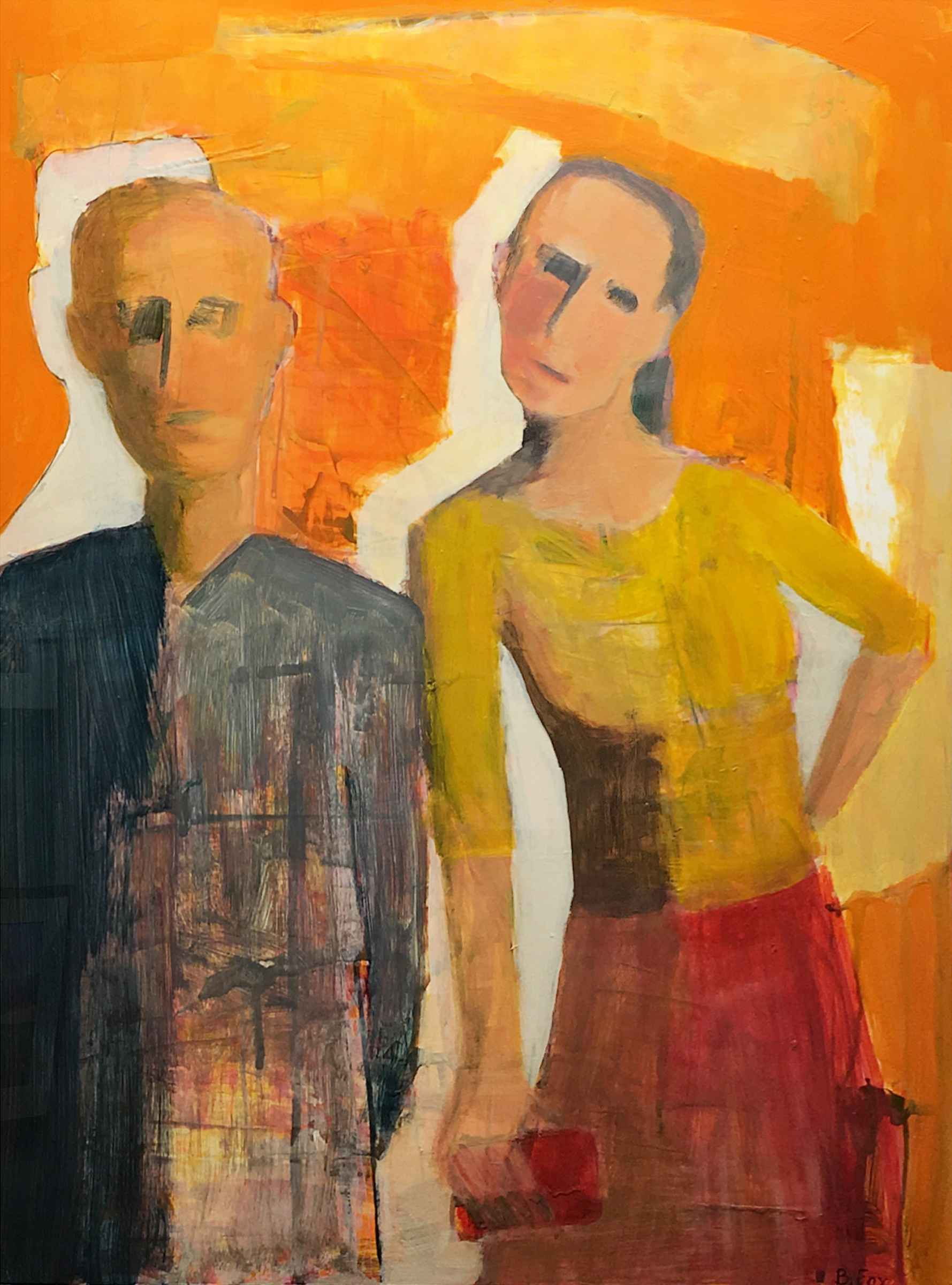 Farmer and His Gal by  Brenda Fox - Masterpiece Online