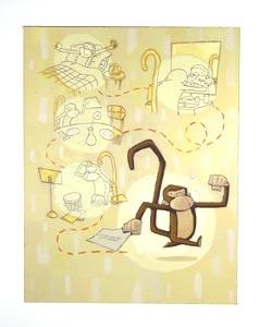 Mr. Pip Wakes Up by  Dan Santat - Masterpiece Online