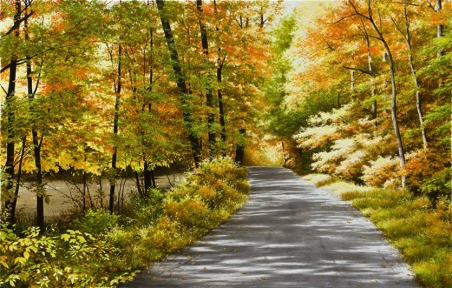 Black River Road by  Alexander Volkov - Masterpiece Online
