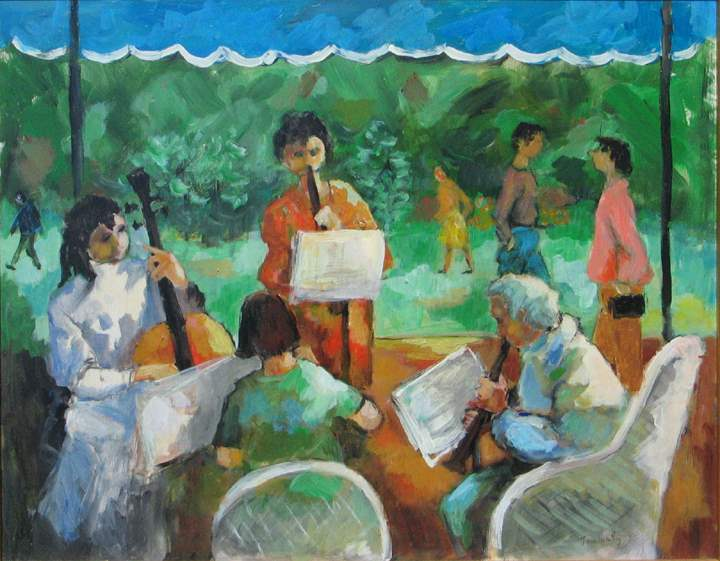 Afternoon Quartet by  Tom Maley - Masterpiece Online