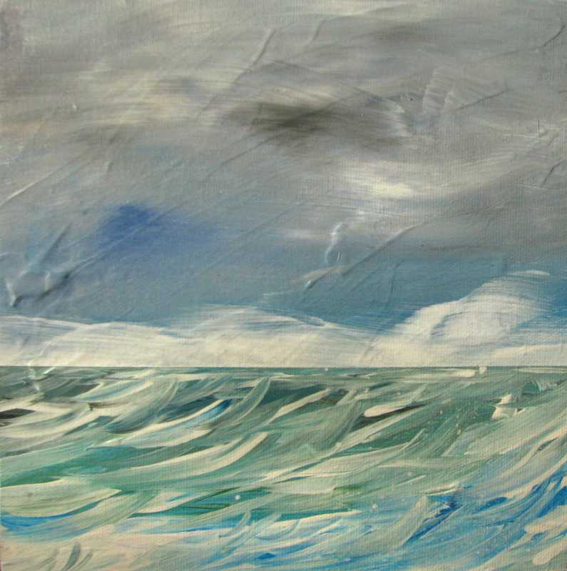 Pacific Blues 10 by  Curt Ginther - Masterpiece Online