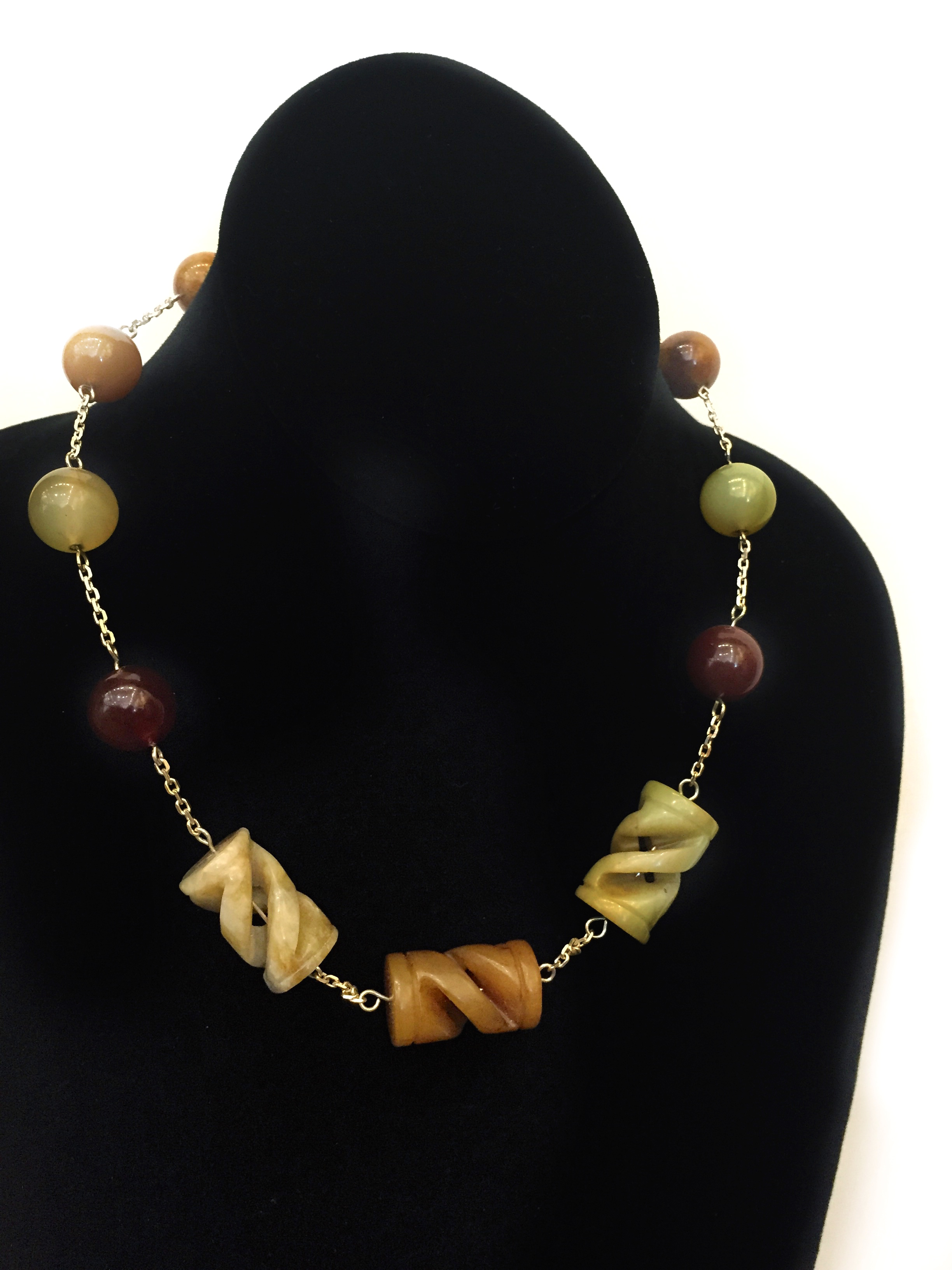 Imperial Jade Necklace by  Todd Stallkamp - Masterpiece Online