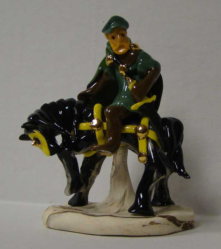 OD048A Mounted Town F... by  Old Dog Boyd - Masterpiece Online
