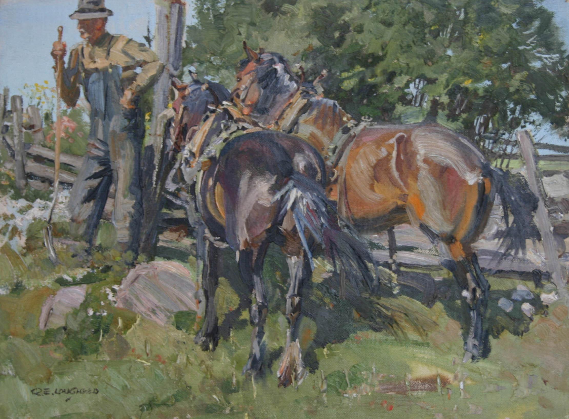 Joe Riche's Team by  Robert Lougheed - Masterpiece Online