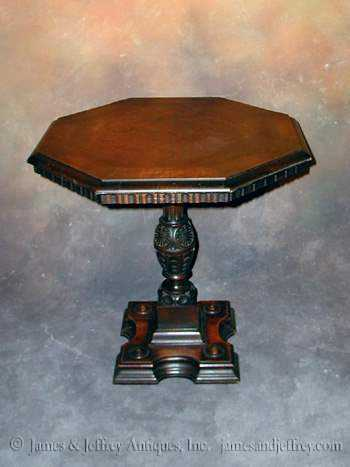 Carved Accent Table by  Italian  - Masterpiece Online