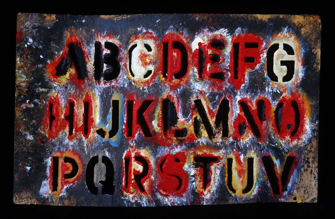 Alphabet Template II,... by  Alison Shaw - Masterpiece Online