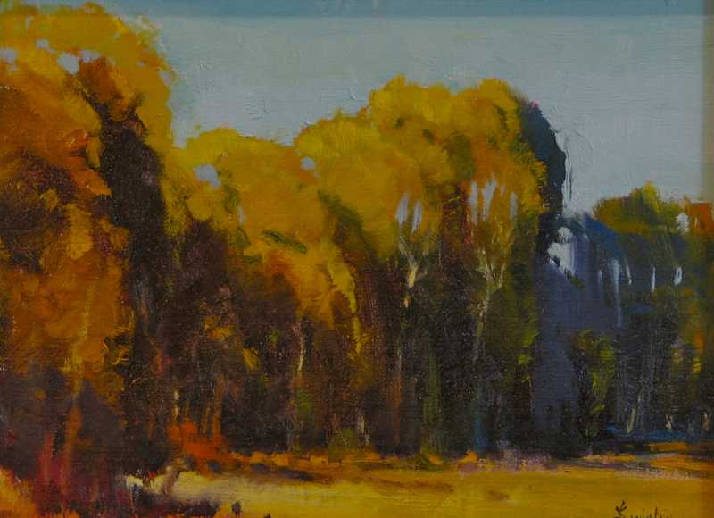 Paradise Valley Trees by Mr Doug Swinton - Masterpiece Online