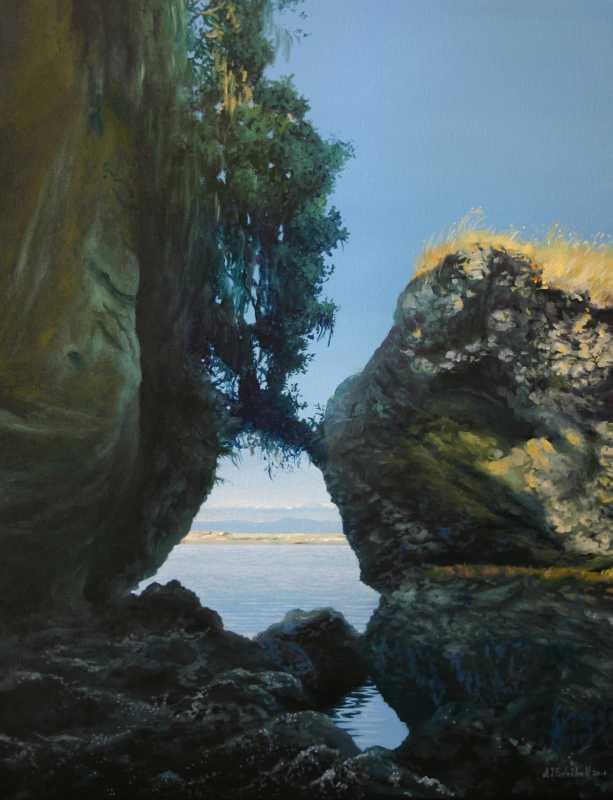 Salt Creek Vista by  Andy Eccleshall - Masterpiece Online