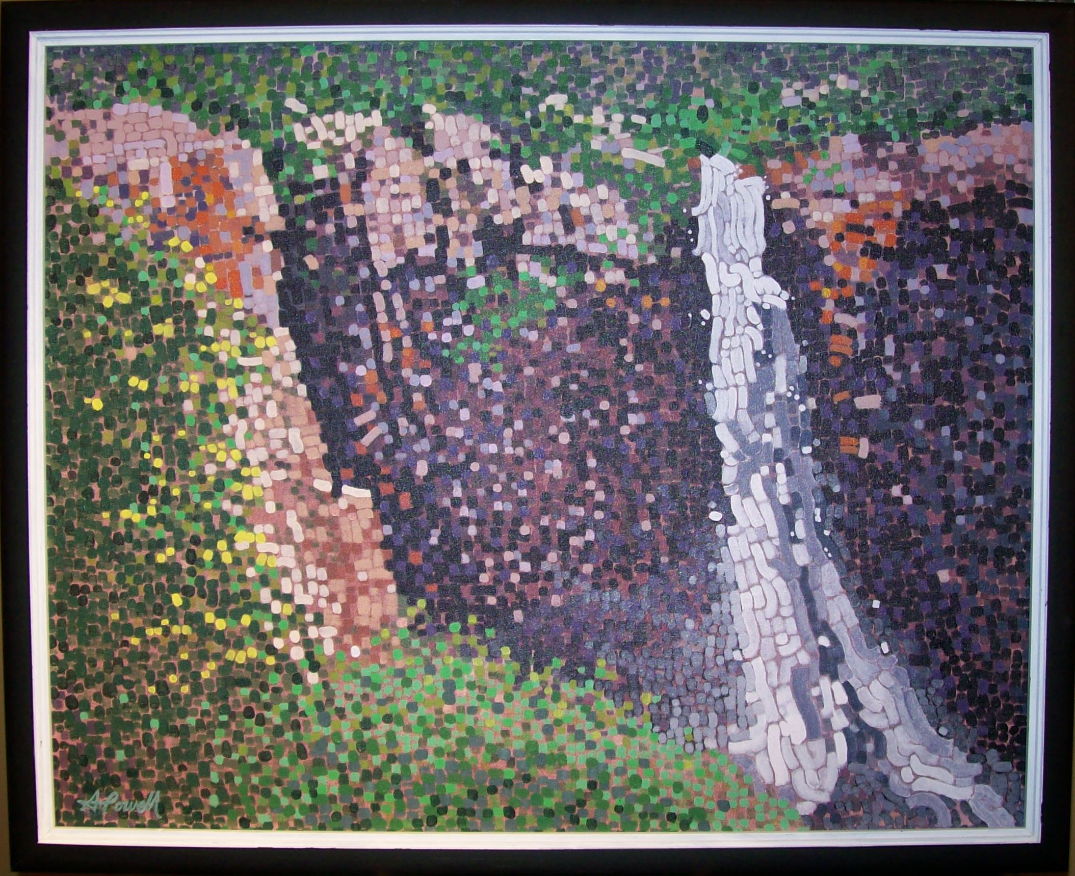 Over The Edge by  Allen Powell - Masterpiece Online