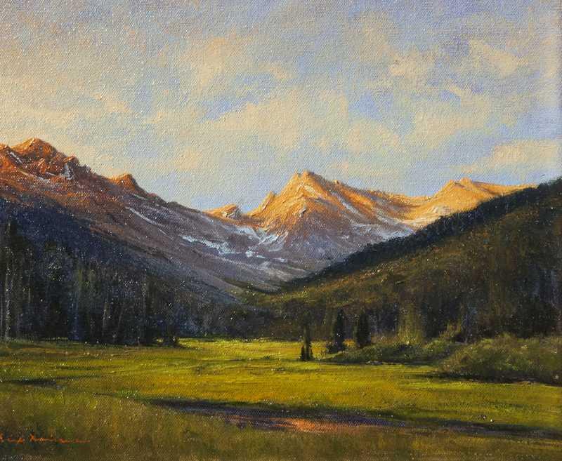 Alpine Light by  Dix Baines - Masterpiece Online
